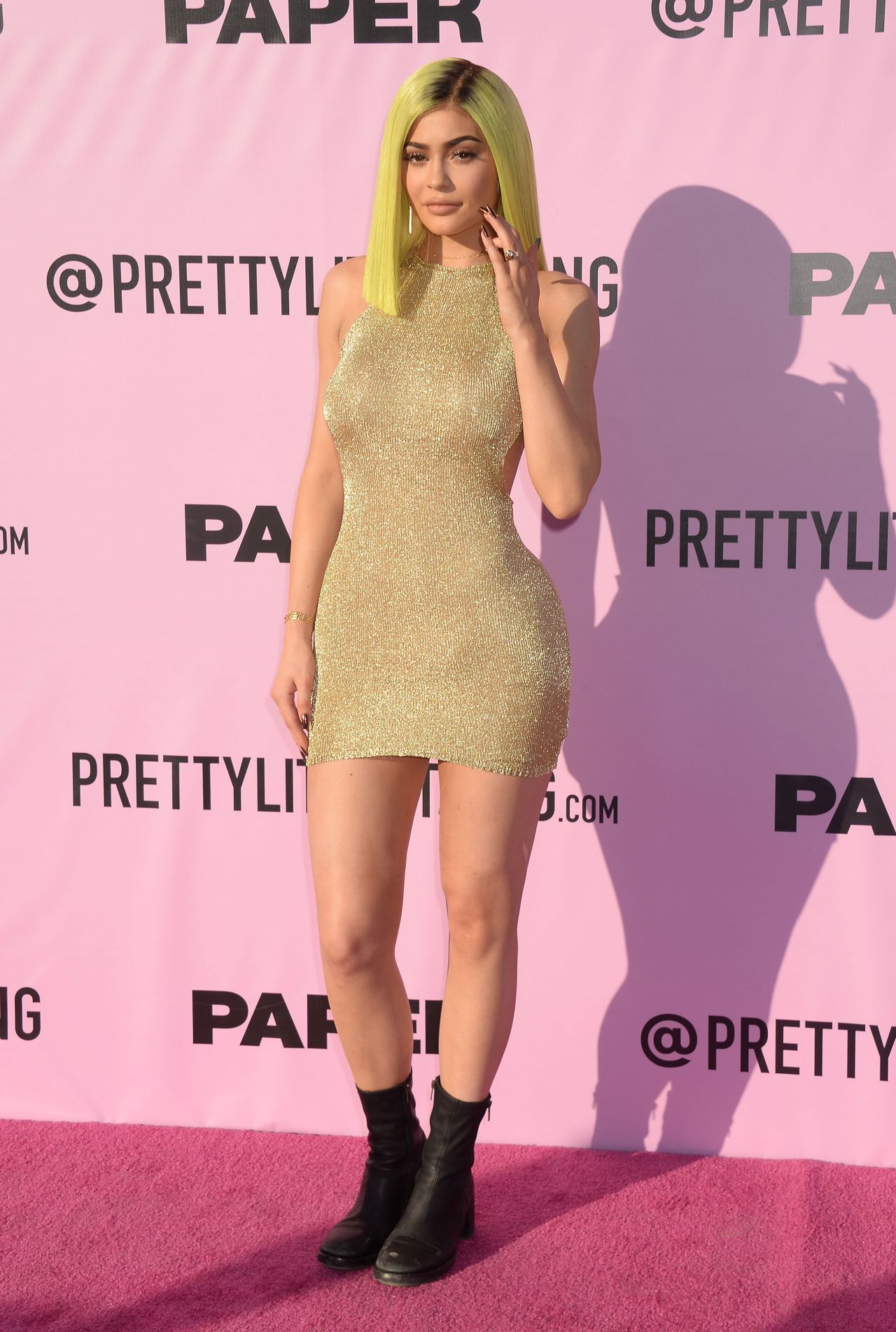 Kylie Jenner At Pretty Little Thing X Paper Magazine Event