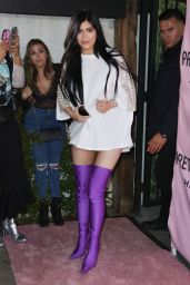 Kylie Jenner at PrettyLittleThing x Stassie Launch Party in LA 4/11/2017