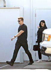 Kylie Jenner - Leaving a Studio in Los Angeles 4/3/2017