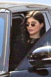 Kylie Jenner - Leaving a Studio in Los Angeles 4/3/2017