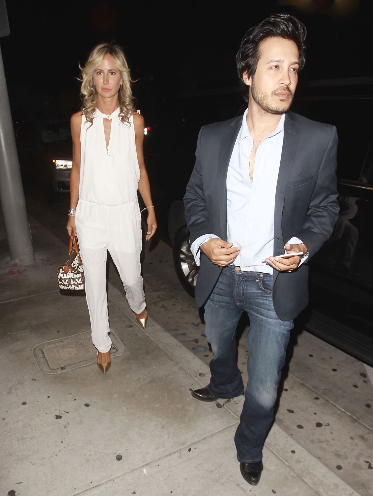 foto Lady victoria hervey at catch la in west hollywood