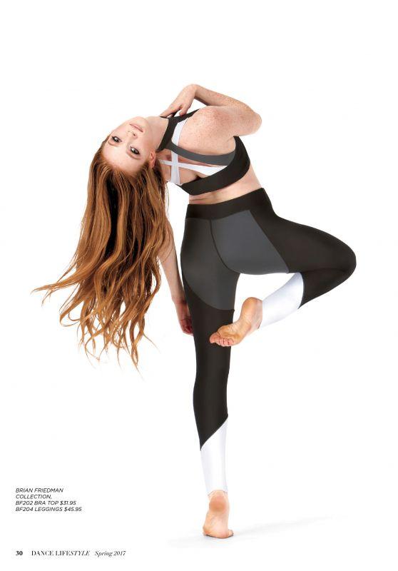 Larsen Thompson & Genneya Walton - Dance Lifestyle Magazine Spring 2017
