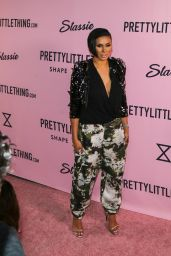 Laura Govan – PrettyLittleThing Campaign Launch for PLT SHAPE in LA 4/11/2017