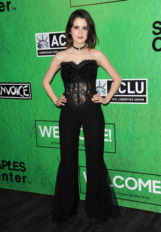 Laura Marano at Zedd's Welcome! ACLU Benefit Concert in LA 4/3/2017