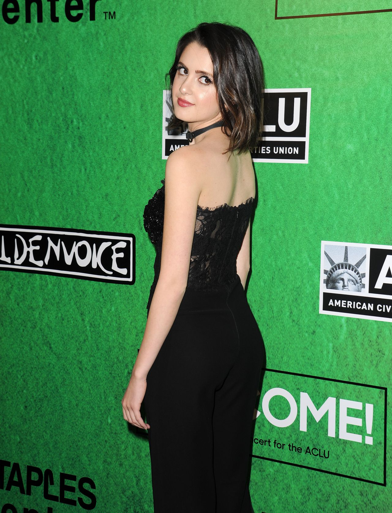 Laura Marano at Zedd's Welcome! ACLU Benefit Concert in LA ...
