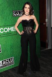 Laura Marano at Zedd's Welcome! ACLU Benefit Concert in LA 4/3/2017