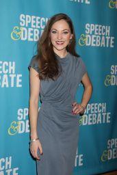 "Laura Osnes at ""Speech & Debate"" Premiere in New York 4/2/2017"