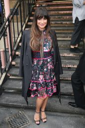Lea Michele Arrives at Sunday Brunch in London 4/23/2017
