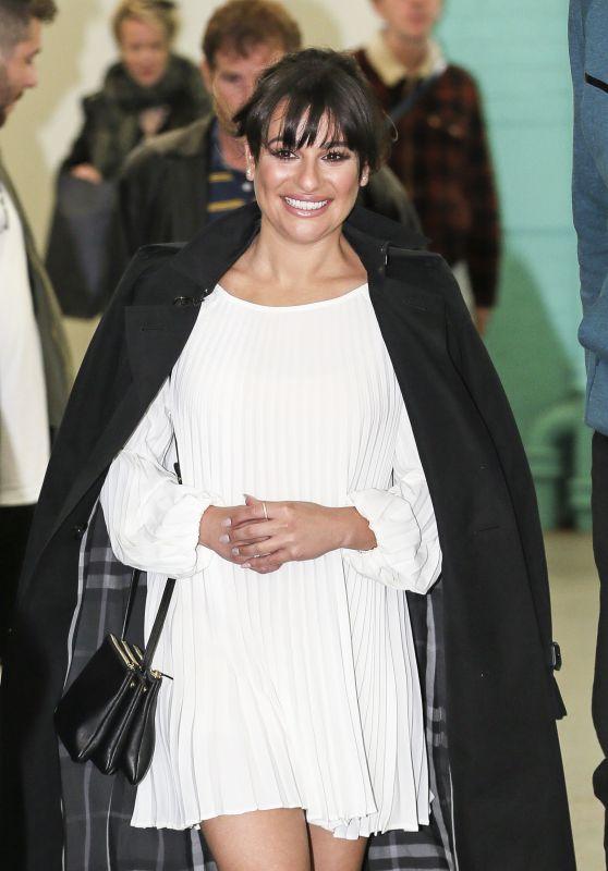 Lea Michele at the ITV Studios in London, UK 4/24/2017