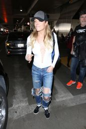 LeAnn Rimes at LAX Airport in Los Angeles 3/31/2017