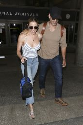 LeAnn Rimes at LAX in Los Angeles, CA 04/26/2017