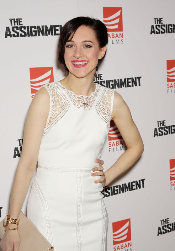"""Lena Hall – """"The Assignment"""" Movie Screening in New York 4/3/2017"""