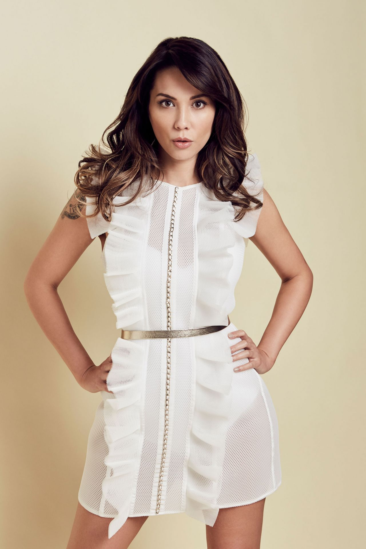 Lexa Doig Photoshoot For Sharp Magazine March 2017