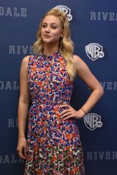 """Lili Reinhart - """"Riverdale"""" TV Series Photocall in Mexico City 4/6/2017"""
