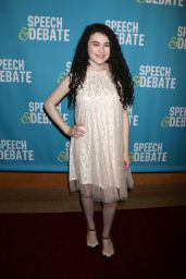 "Lilla Crawford at ""Speech & Debate"" Premiere in New York 4/2/2017"