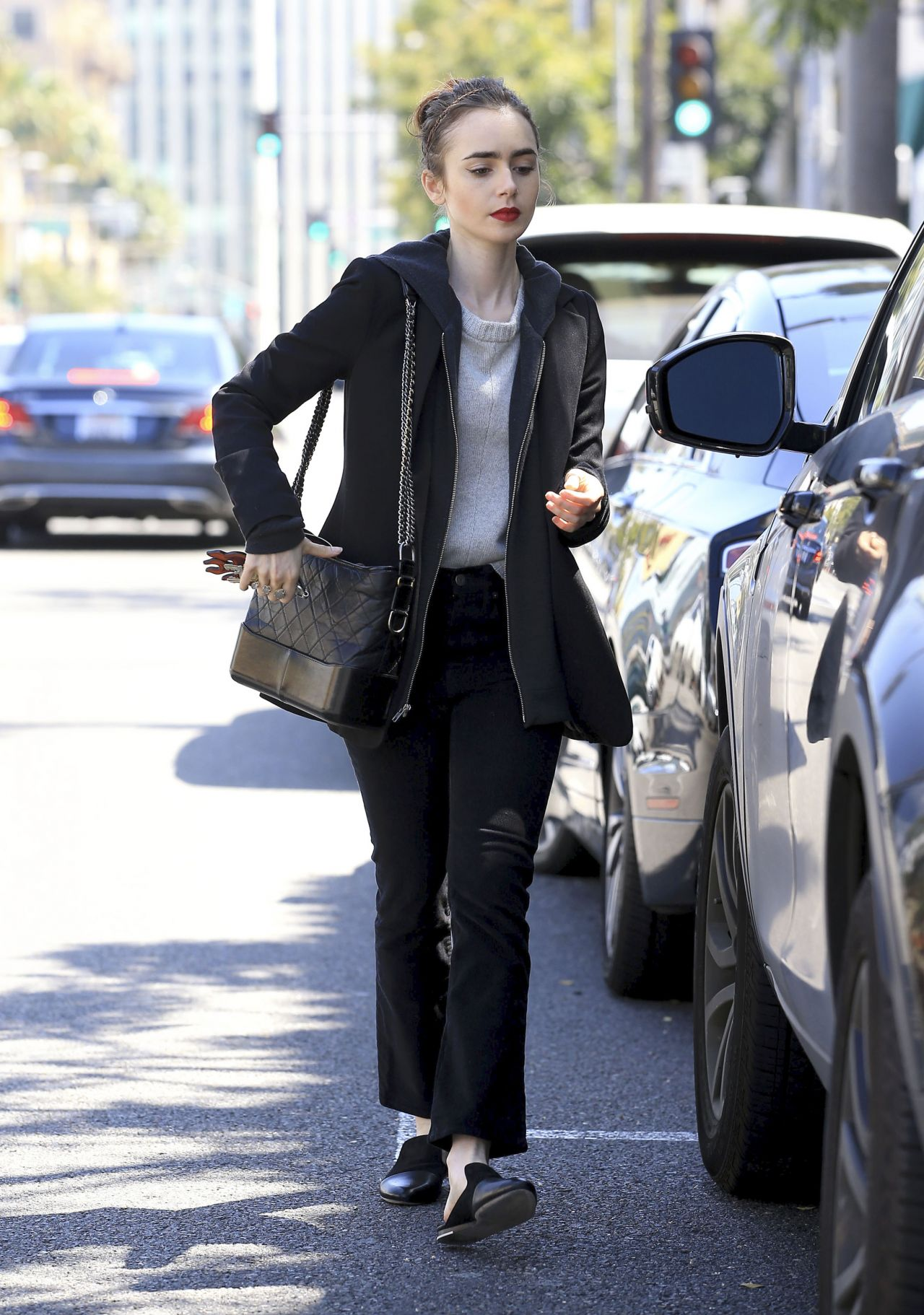 Lily collins street style beverly hills nudes (61 pics)