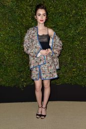 Lily Collins is Stylish - Celebration of Chanel