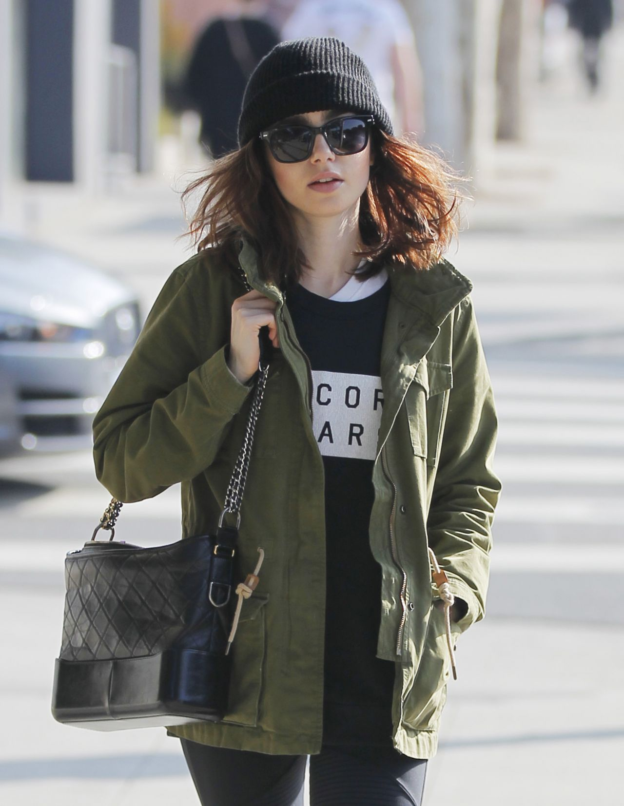 Lily Collins Latest Photos