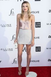 Lily Donaldson on Red Carpet at Daily Front Row's Fashion Los Angeles Awards 2017