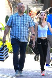 Lily-Rose Depp - Shopping With Her Bodyguard in Hollywood 4/5/2017