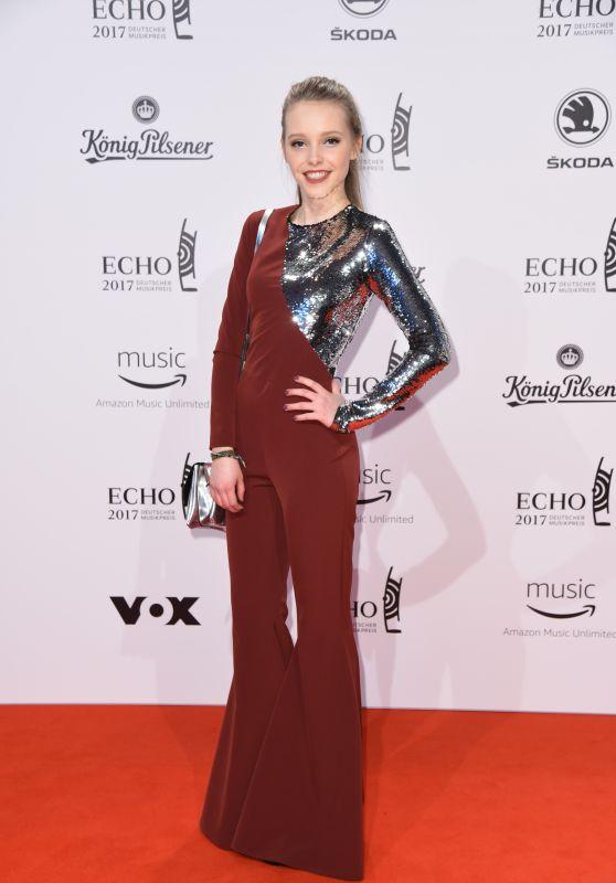 Lina Larissa Strahl at ECHO Music Awards 2017 in Berlin