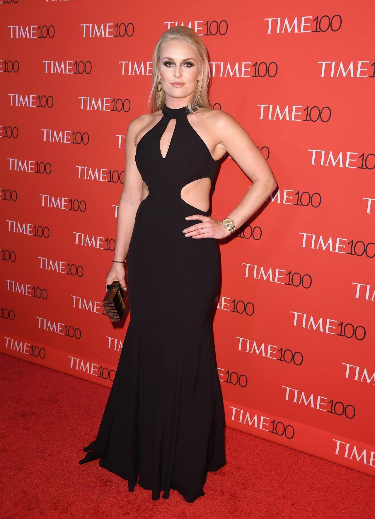 Lindsey Vonn Time 100 Gala