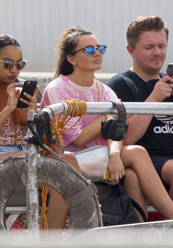 Little Mix - Airboat Tour in New Orleans, Louisiana, April 2017