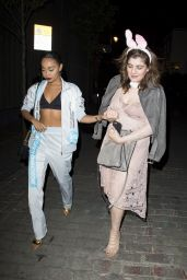 Little Mix - Leaving Cirque Night Club in London 4/20/2017