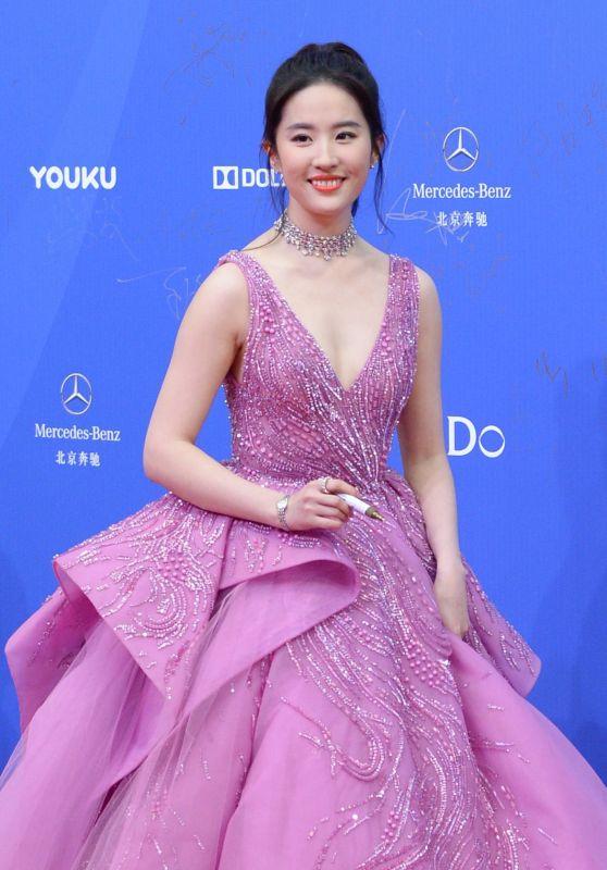 Liu Yifei at Beijing International Film Festival, China 4/16/2017