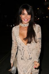 Lizzie Cundy Night Out Style - London, March 2017