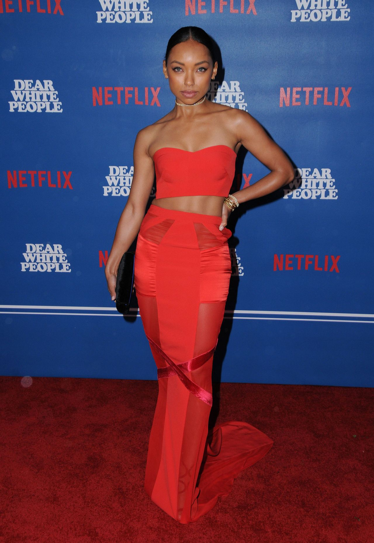 Logan Browning At Quot Dear White People Quot Tv Series Premiere