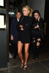 Lottie Moss Night Out With Her Pals in Chelsea 4/12/2017