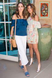 Louise Roe – Rachel ZOEasis at Coachella in Palm Springs, April 2017
