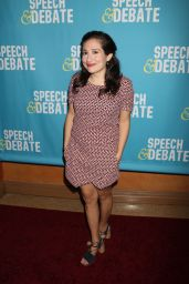 "Lucy DeVito at ""Speech & Debate"" Premiere in New York 4/2/2017"