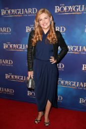 "Lucy Durack – ""The Bodyguard"" Musical Premiere in Sydney 04/27/2017"