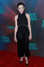 Lucy Hale at Freeform Upfront in New York 4/19/2017