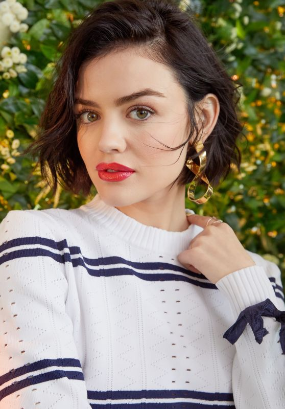 Lucy Hale - Bustle Photoshoot, April 2017