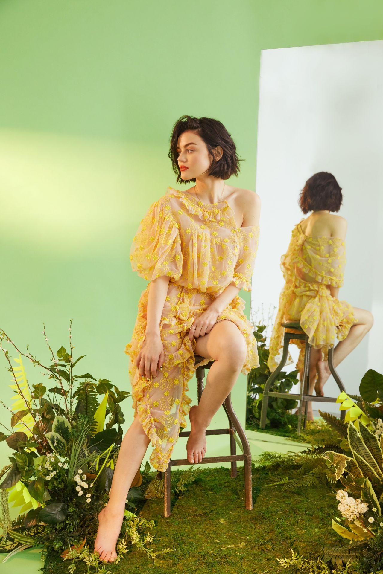 Janel Parrish Photo Shoot Lucy Hale - Bustle Pho...