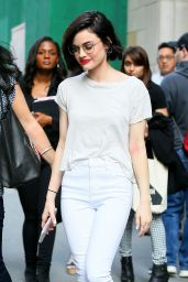 Lucy Hale Casual Style - Out in NYC 4/17/2017