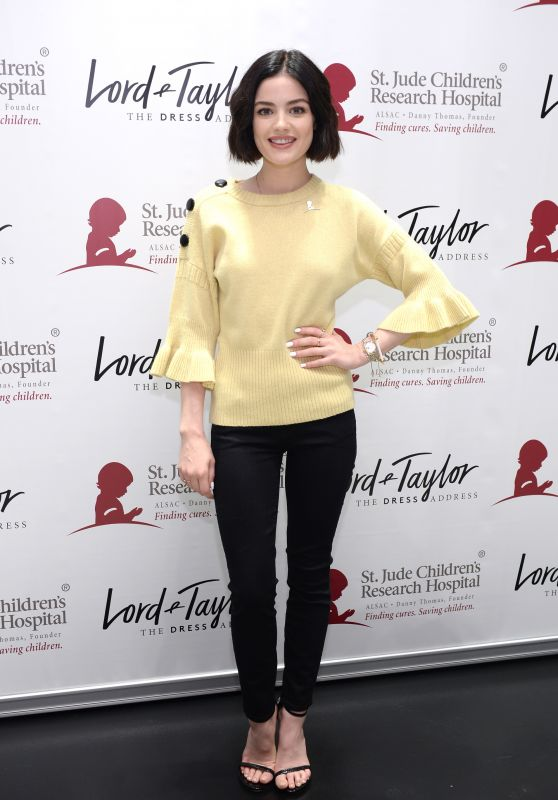 Lucy Hale - Lord & Taylor Celebrates Charity Days: Let