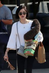 Lucy Hale - Running Errands in Los Angeles 4/11/2017