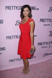 Lucy Mecklenburgh – PrettyLittleThing Campaign Launch for PLT SHAPE in Los Angeles 4/11/2017