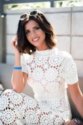 Lucy Mecklenburgh - The Blonde Salad x Revolve Pool Party in Palm Springs 4/14/2017
