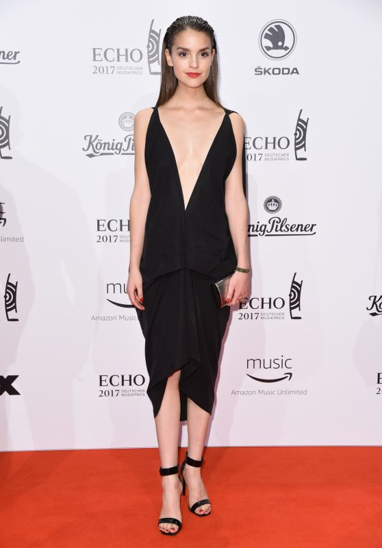 Luise Befort at ECHO Music Awards 2017 in Berlin