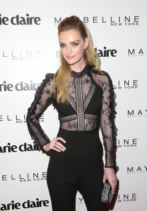 Lydia Hearst-Shaw – Marie Claire's 'Fresh Faces' Celebration in West Hollywood 4/22/2017