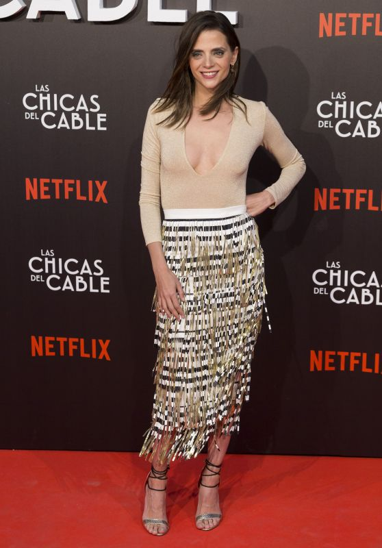 "Macarena Gomez at ""Las Chicas Del Cable"" Movie Premiere in Madrid 04/27/2017"