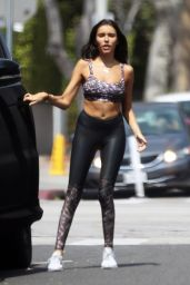 Madison Beer in Spandex - Earth Bar in West Hollywood 4/3/2017