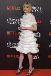"""Maggie Civantos at """"Las Chicas Del Cable"""" Movie Premiere in Madrid 04/27/2017"""