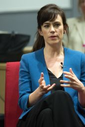 Maggie Siff - New York Moves Power Women Forum 4/6/2017