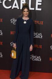 "Manuela Velasco at ""Las Chicas Del Cable"" Movie Premiere in Madrid 04/27/2017"